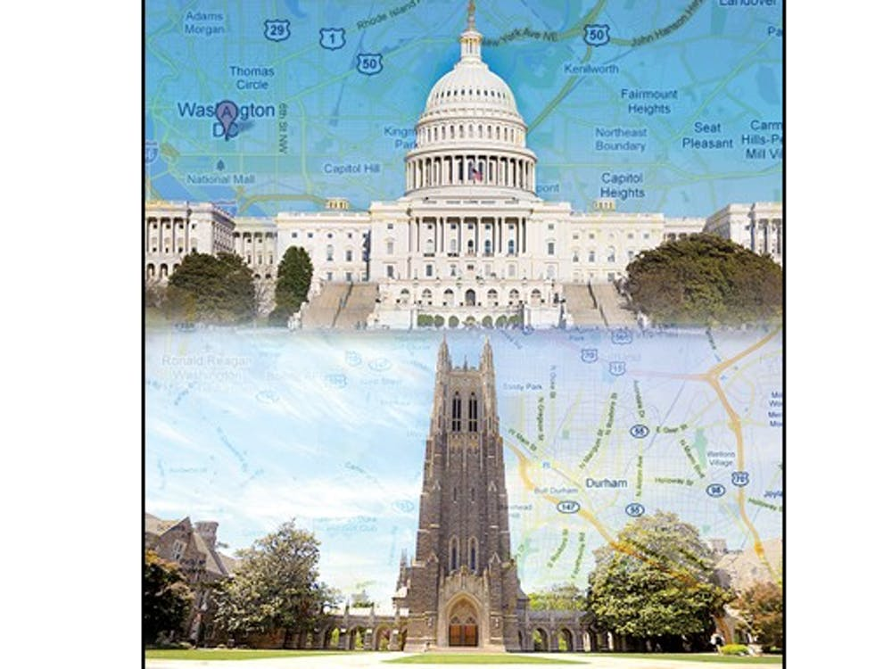 Duke will open a center in Washington, D.C. this year to connect Duke students, faculty and alumni working in the capital.