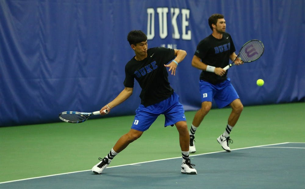 <p>Vincent Lin and several other Duke freshmen will get their first taste of conference play this weekend when the Blue Devils welcome Georgia Tech to Durham.</p>