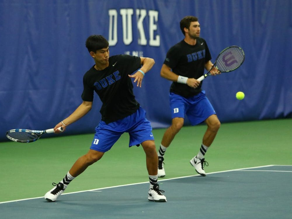 Vincent Lin and several other Duke freshmen will get their first taste of conference play this weekend when the Blue Devils welcome Georgia Tech to Durham.