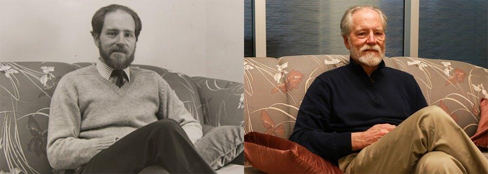 Left: Nov. 11, 1988, by Jill Wright | Right: Feb. 1, 2018, by Bre Bradham