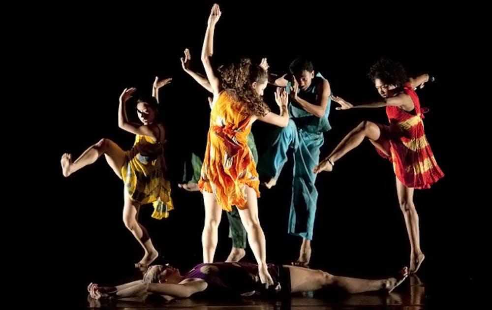 November Dance dress rehearsal