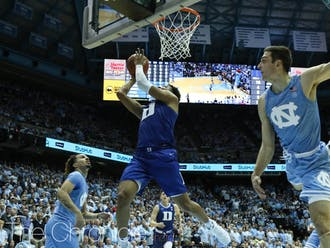 Last season, the Blue Devils and Tar Heels suited up in commemorative jerseys for the 100th anniversary of the Tobacco Road rivalry.