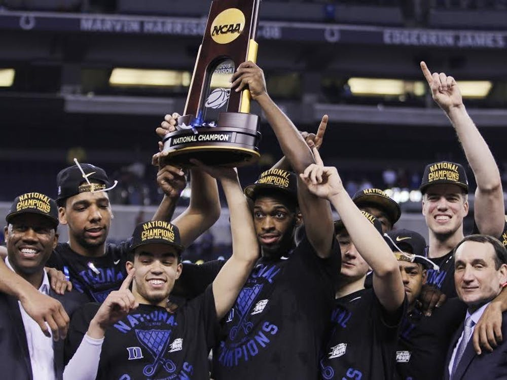 Duke's latest special group completed its national title run and storybook season Monday night.