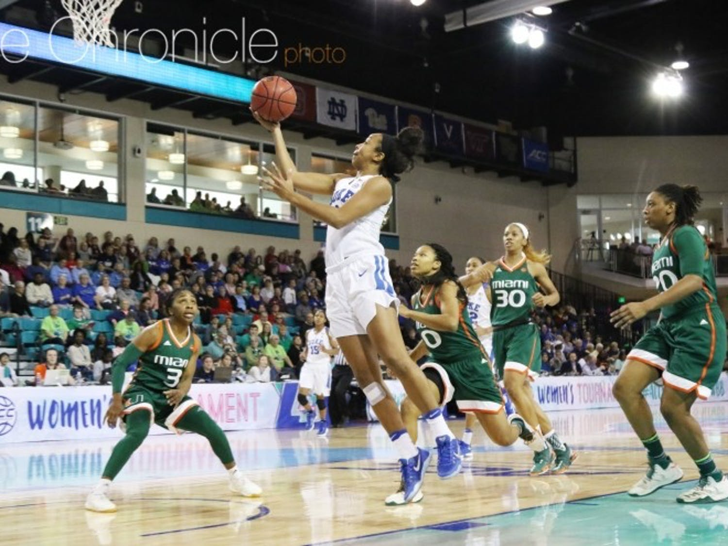 First-team All-ACC guard Lexie Brown led the Blue Devils to the ACC tournament title game and a slew of top-25 wins.