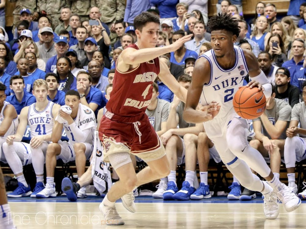 Cam Reddish has been a consistent force from beyond the arc for Duke.