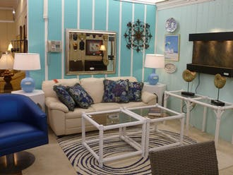 Classic Treasures sells eclectic consignment art and furniture.
