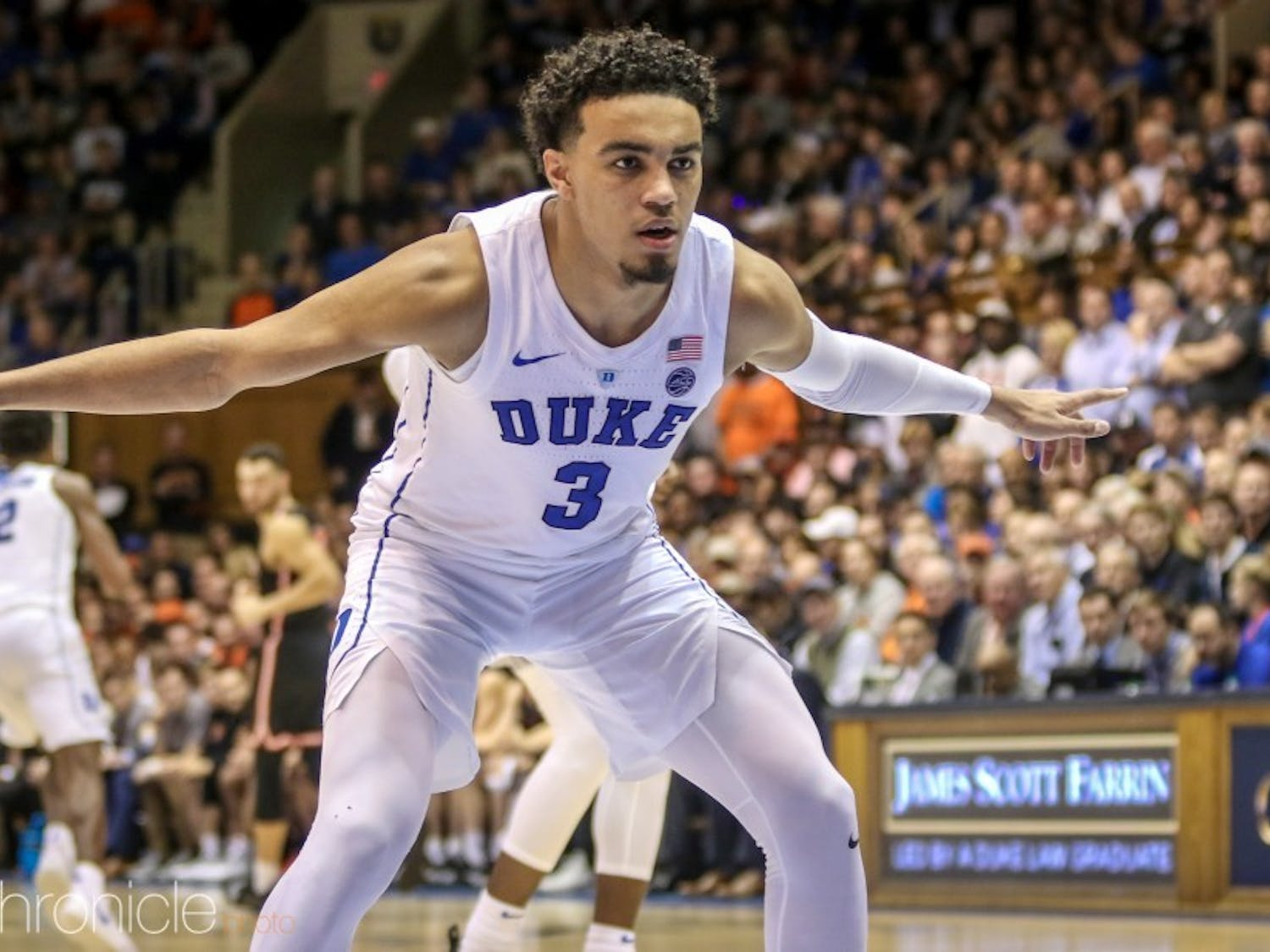 Tre Jones, Duke's likely leader on the court next season, now knows his nonconference opponents.