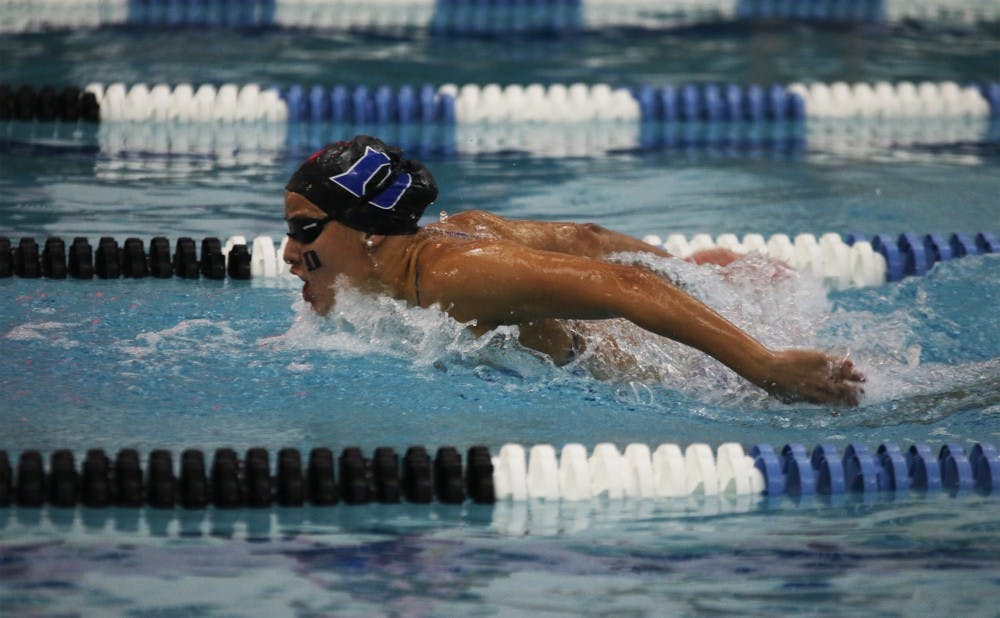 <p>Several Blue Devils closed out their college careers in Chapel Hill this weekend.</p>