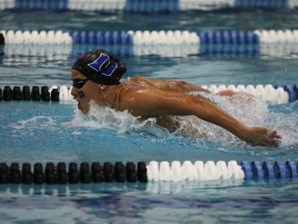 Several Blue Devils closed out their college careers in Chapel Hill this weekend.