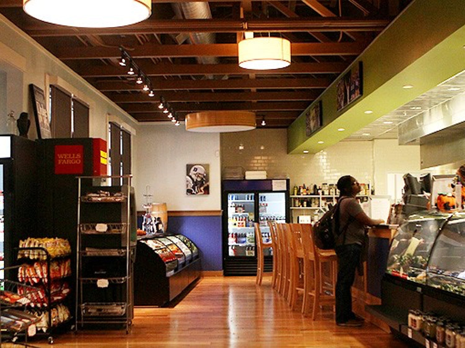 The Food Factory, which replaced Devil's Bistro this year, has experienced low student turnout since the Fall semester began.