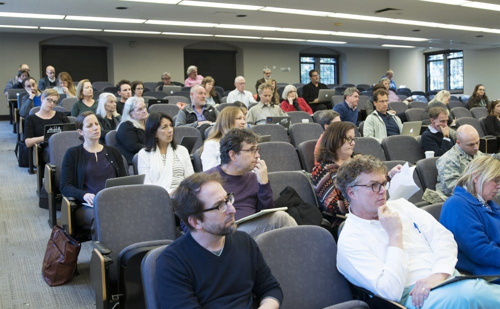 <p>Arts and Sciences Council debated the proposed new Trinity curriculum in their December meeting, discussing concerns about the treatment of AP credits.</p>