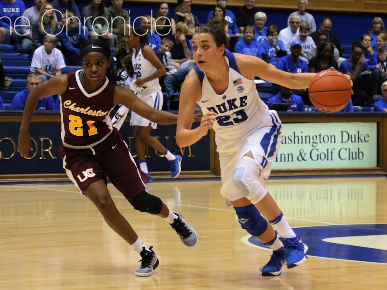 Rebecca Greenwell is already one of the best pure shooters in program history for the Blue Devils.