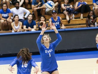 Camille Nazor was a bright spot for Duke in an otherwise dark three games.