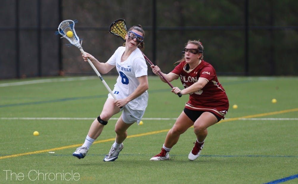 <p>Charlotte North is on her way out of Durham after two consecutive seasons as the leading scorer for Duke.</p>