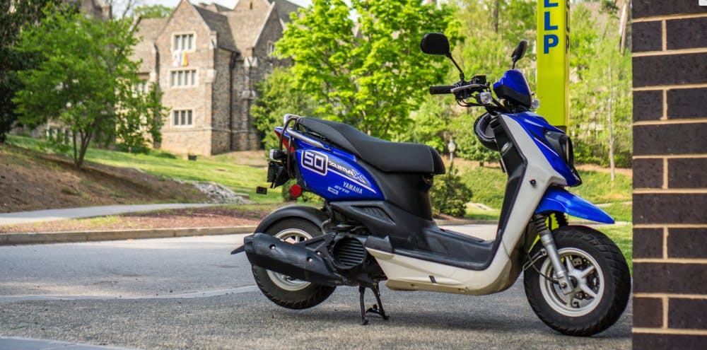 <p>According to DUPD, four black mopeds have been stolen since March 7, and a car was stolen from Central Campus last Thursday.&nbsp;</p>