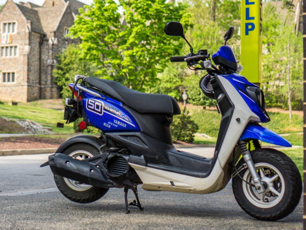 According to DUPD, four black mopeds have been stolen since March 7, and a car was stolen from Central Campus last Thursday.