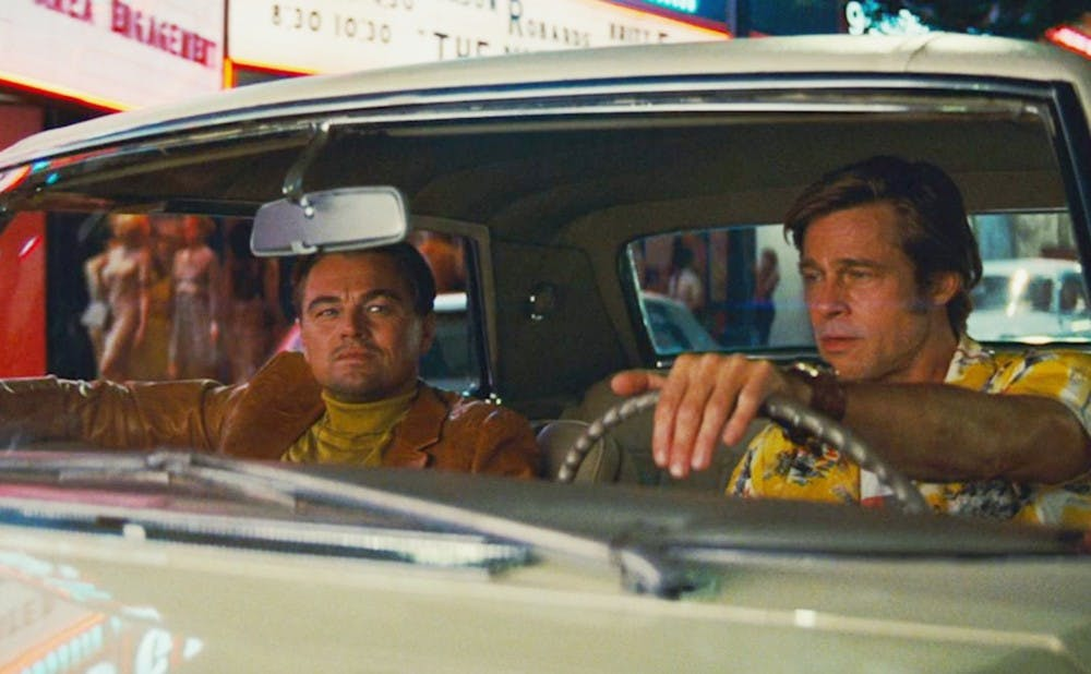 "Quentin Tarantino's latest film, ""Once Upon a Time in Hollywood,"" follows an aging Hollywood star, played by Leonardo DiCaprio (left)."