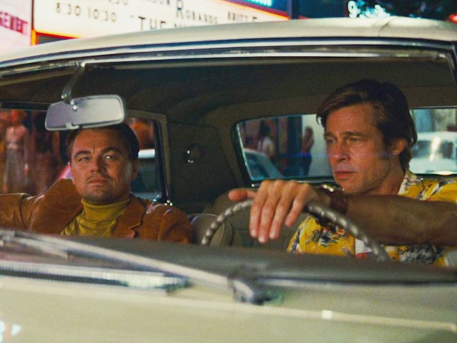 """Quentin Tarantino's latest film, """"Once Upon a Time in Hollywood,"""" follows an aging Hollywood star, played by Leonardo DiCaprio (left)."""