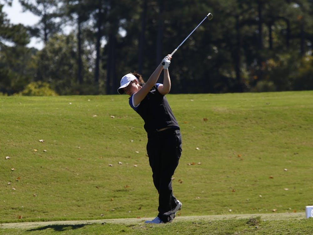 Sophomore Leona Maguire will look to defend her ACC championship title when the Blue Devils head to Greensboro, N.C., this weekend.