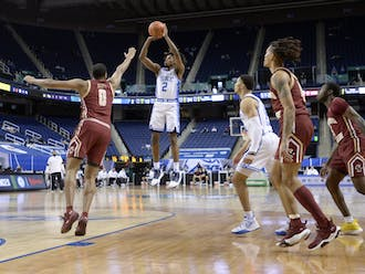 DJ Steward racked up 17 points in Tuesday's 86-51 win over Boston College and will need to produce more of the same against Louisville.