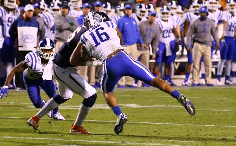 Duke will be without the services of redshirt senior Jeremy Cash for the first half of Saturday's regular season finale but will still look for its seventh win of the year to improve its postseason standing.