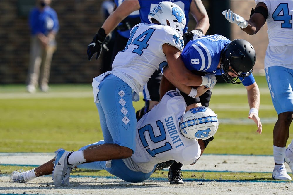 North Carolina dominated in pretty much every facet of the game.