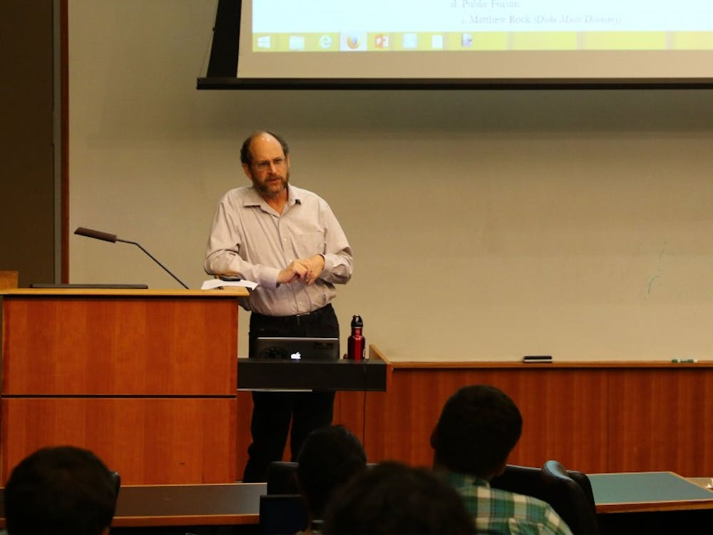 Howard Kallem, director of Title IX compliance, addressed DSG at its meeting Wednesday.