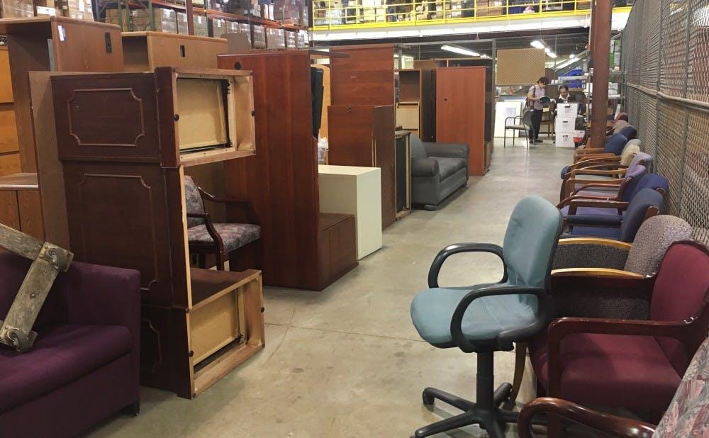 Duke Surplus provides unused supplies to local charities