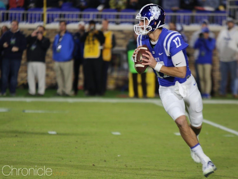 Duke's offensive line will need to rebound and protect quarterback Daniel Jones.