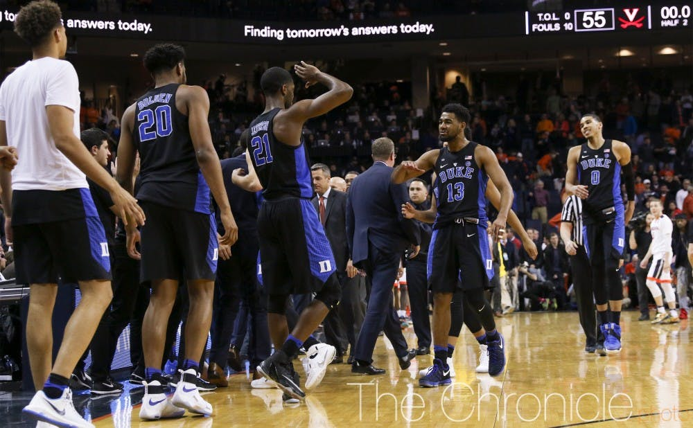 <p>The Blue Devils have now won six games in a row to move into a tie for second in the ACC standings.&nbsp;</p>