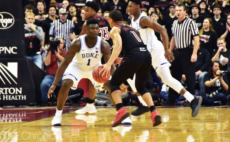 Zion Williamson led Duke's historic final 10 minutes.