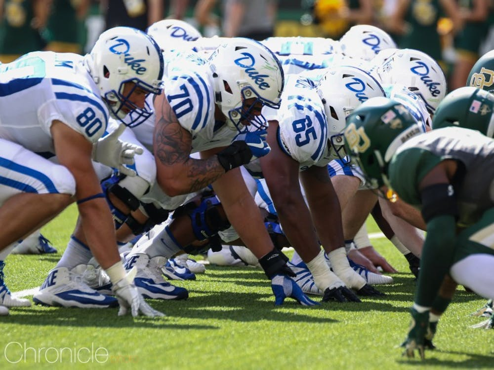 Duke's offensive line looks to gain some consistency in 2019.