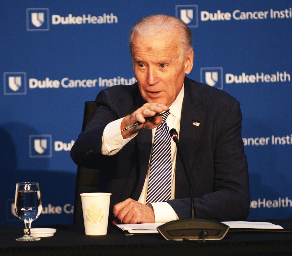 <p>Many Duke cancer experts attended last month's roundtable with Vice President Joe Biden and said that the conversation was not just about publicity.</p>