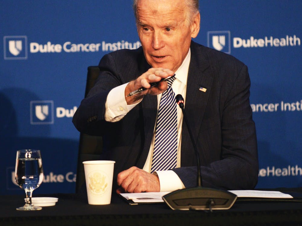 Many Duke cancer experts attended last month's roundtable with Vice President Joe Biden and said that the conversation was not just about publicity.