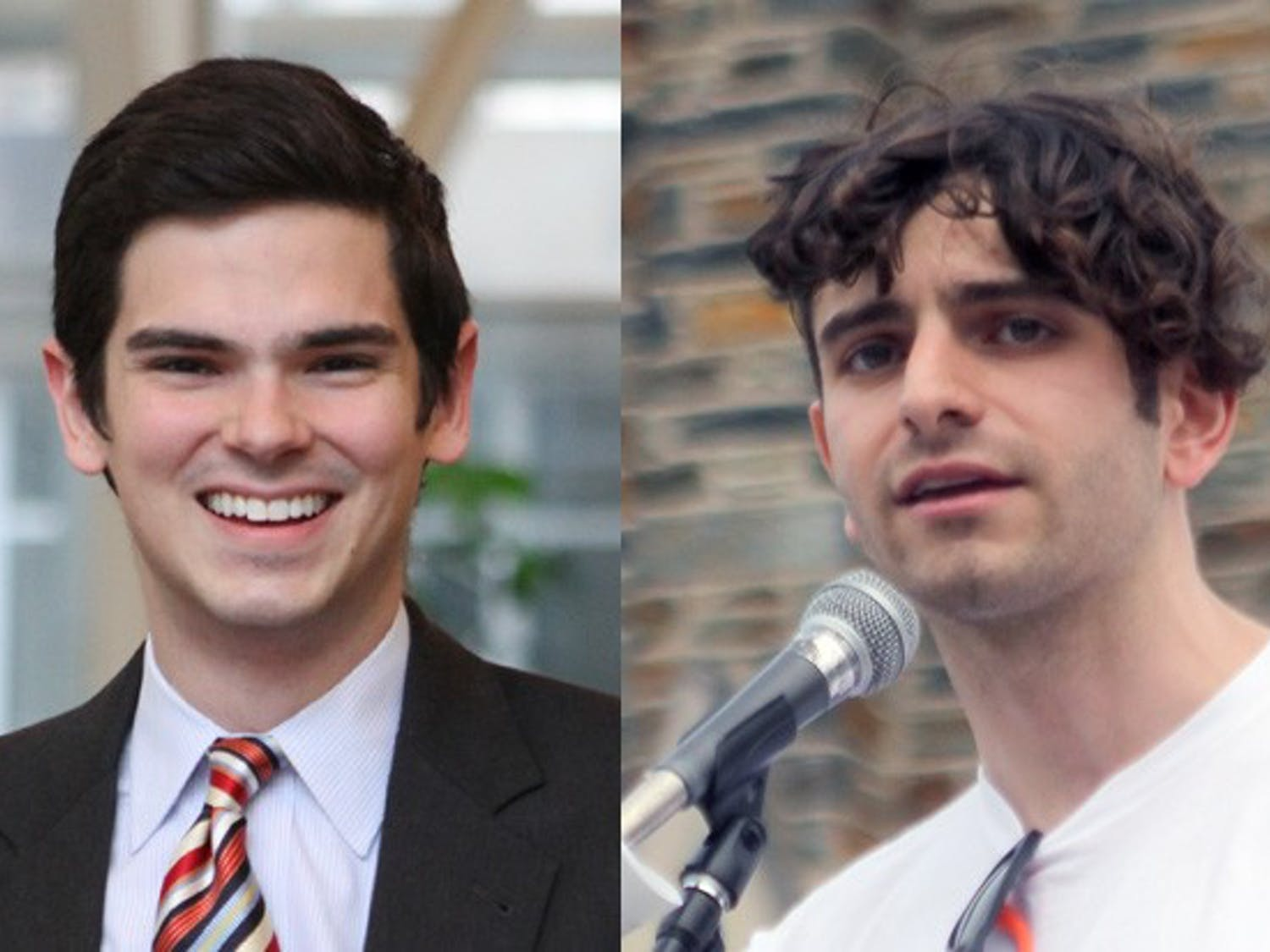 Juniors Jacob Tobia and Patrick Oathout have received 2013 Truman Scholarships, which recognize a dedication to public service.