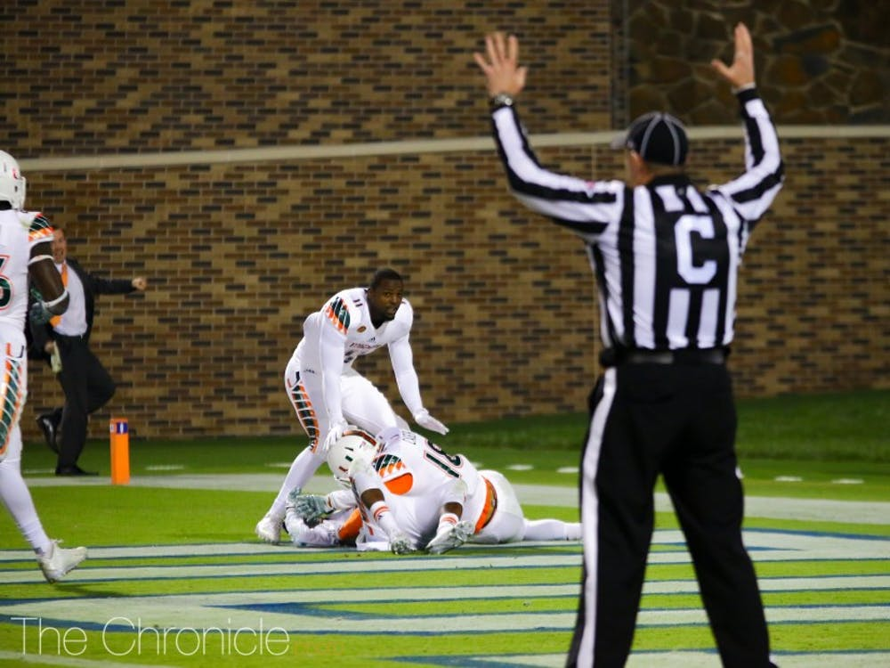 Miami's game-winning kick-return touchdown began a cold stretch for Duke football.