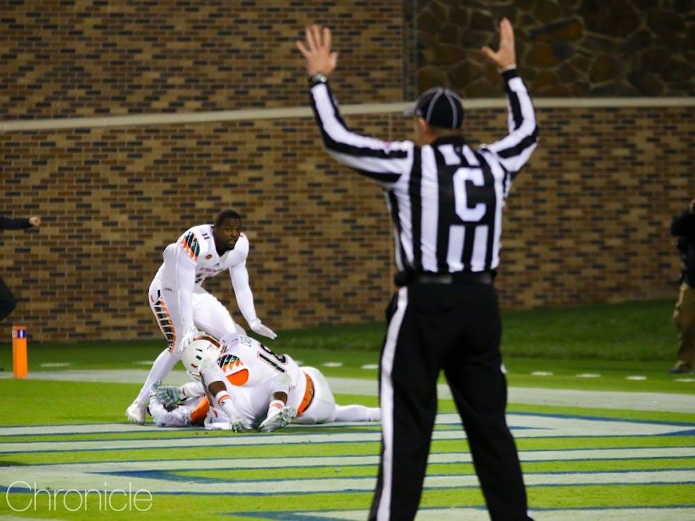 Miami's game-winning kick-return touchdown began a cold stretch for Duke football.