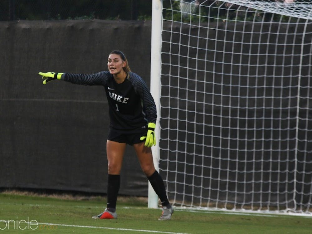 Brooke Heinsohn boasts a three-game shutout streak.