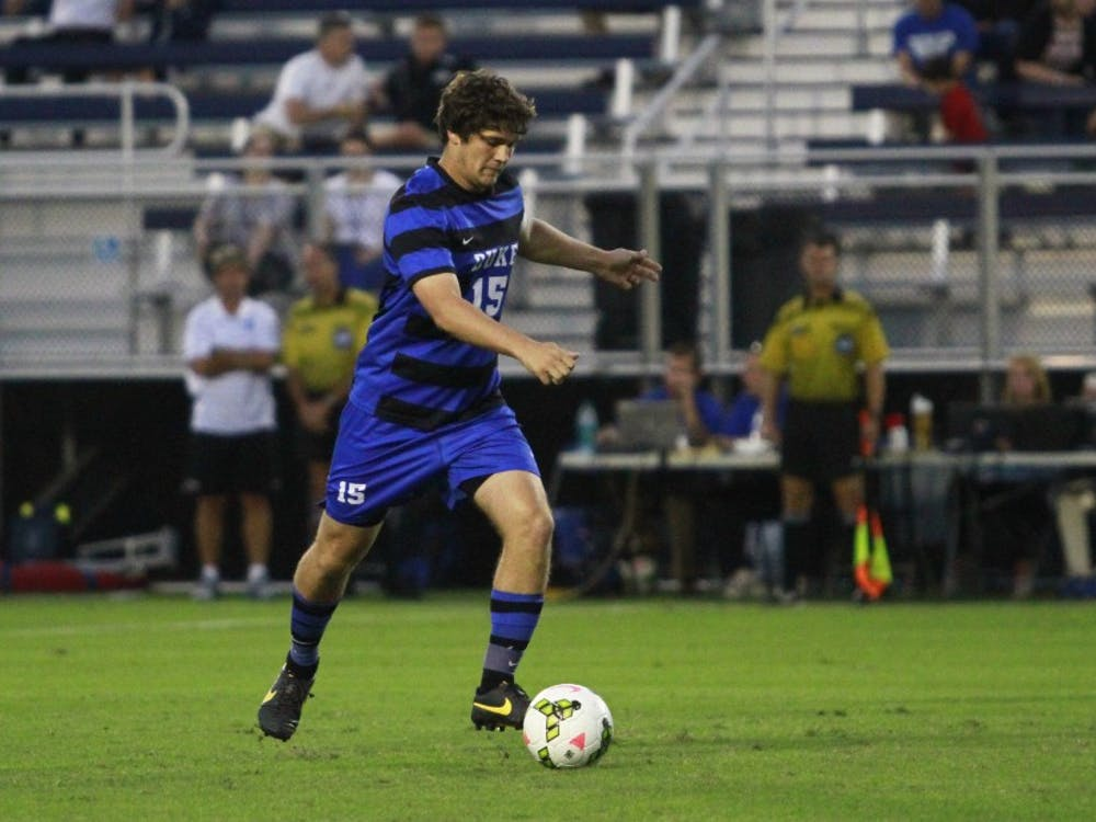 Senior Zach Mathers enters his final year in Durham with six goals and 10 assists for head coach John Kerr's squad.