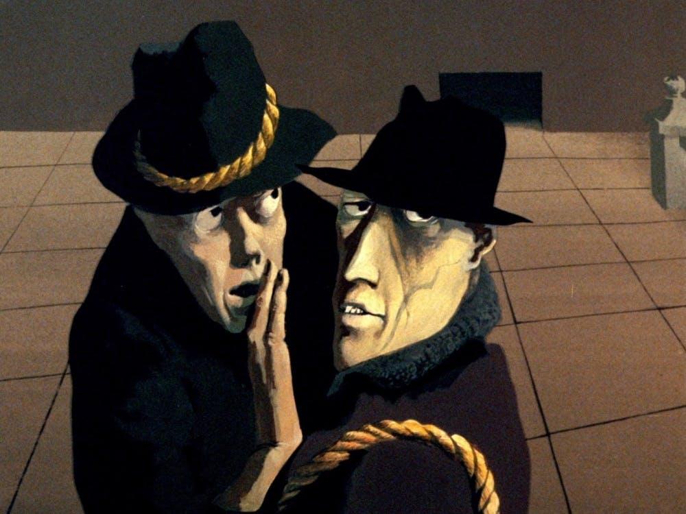 "Paul Julian and Les Goldman's ""Hangman"""