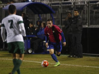 Graduate student Jared Rist and the Blue Devils can grab their fifth straight win and bolster their NCAA tournament resumeon Senior Night Friday against Virginia Tech.
