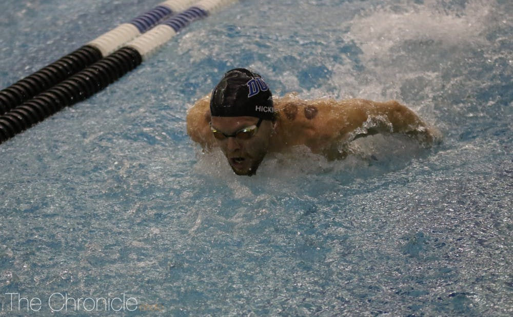 <p>Duke swimming and diving ended its season on a high note.</p>