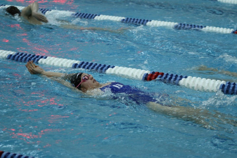 <p>The Blue Devils kept it close, but the Tar Heels closed out the meet Saturday to spoil Duke's Senior Day.</p>
