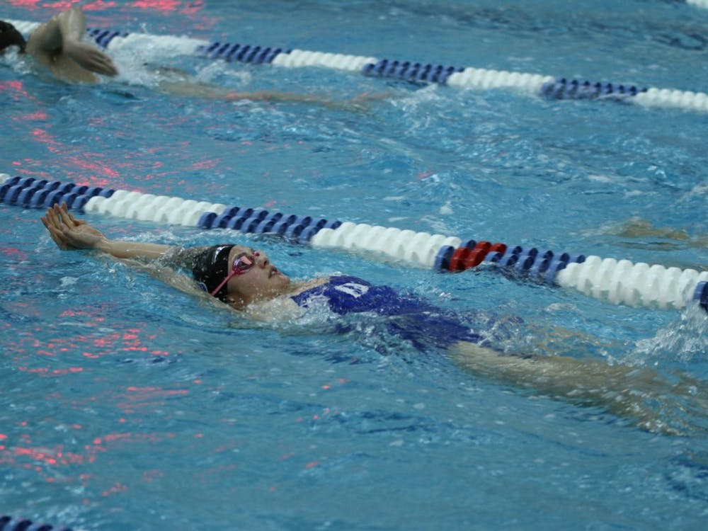 The Blue Devils kept it close, but the Tar Heels closed out the meet Saturday to spoil Duke's Senior Day.