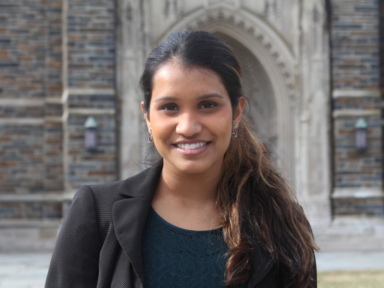 DSG President Lavanya Sunder is best known for her work on the Fix My Campus Facebook group.
