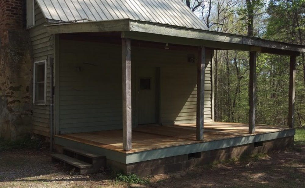 The Couch family owned much of the land that is now the southwest portion of the Duke Forest. Their cabin is now being used for the Deer Management Assistance Program and other fun events.