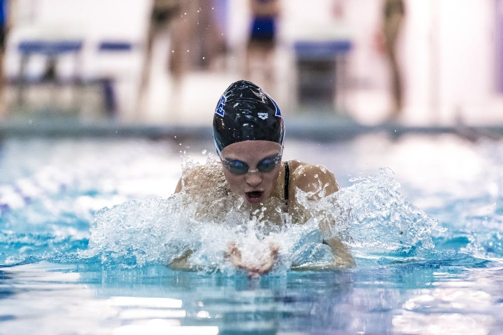 Freshman Sarah Foley has undoubtedly been the highlight of the early portion of Duke's season.
