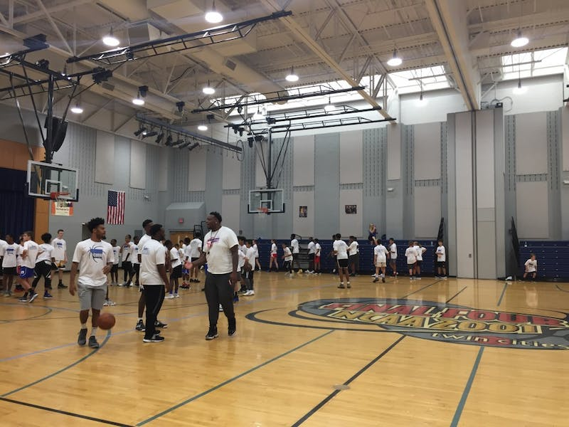 Quinn Cook's basketball camp relocated to Durham this summer after previously being held in Maryland.