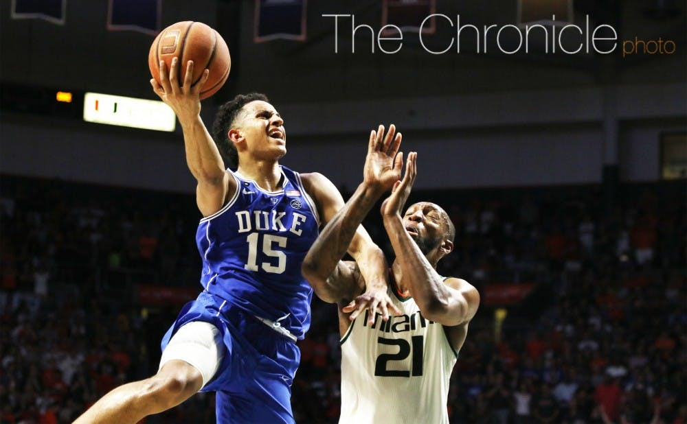 <p>Frank Jackson will be Duke's 10th one-and-done since 2011.</p>