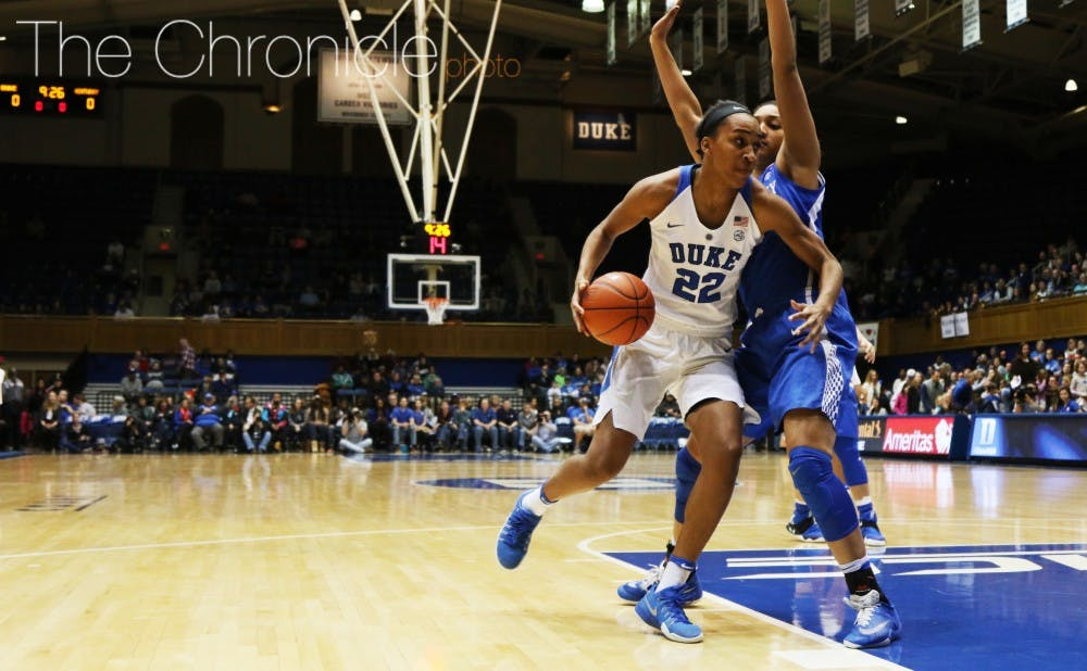 <p>Senior forward Oderah Chidom scored 11 first-half points and was instrumental in shutting down second-team All-SEC forward Evelyn Akhator.&nbsp;</p>